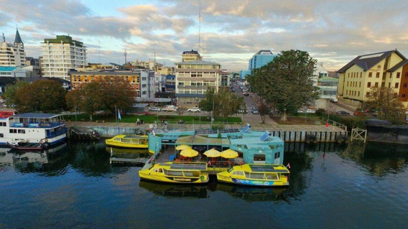 Barrio Flotante de Valdivia: energía sustentable en Los Ríos