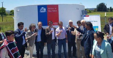 Con inauguración de APR Boquial en Río Bueno, MOP llega a 42 nuevos sistemas de agua potable rural construidos en la región en el actual Gobierno