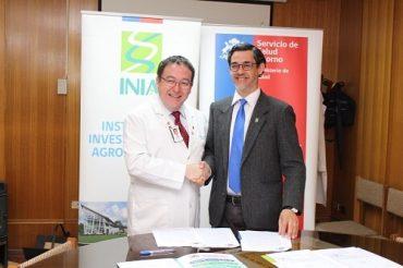INIA y Servicio de Salud Osorno firmaron convenio para forestar terrenos de Hospital Misión San Juan
