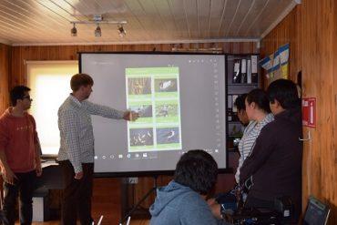 Con aplicación móvil al servicio de la comunidad concluyen talleres de robótica en Mehuín