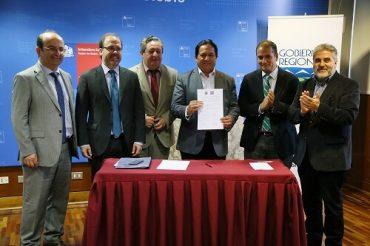 Ministerio de Obras Públicas y Gobierno Regional firman convenio para construir nuevo puente Duqueco