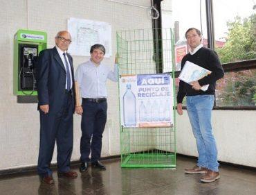 Municipio implementará 40 puntos de reciclaje de botellas plásticas en Valdivia