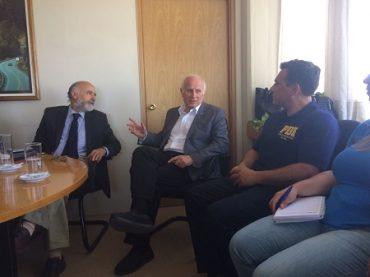 Delegación chilena comparte consejos de pasos fronterizos con peregrinos por visita del Papa