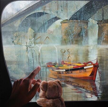 El Concurso Internacional de Pintura Valdivia y su Río 2018 logró una excelente convocatoria