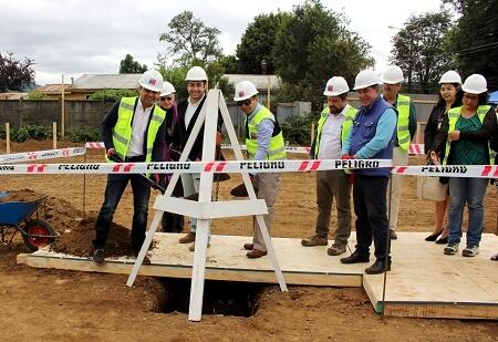 Dirección de Vialidad Valdivia inicia construcción de nuevos edificios para su oficina provincial,talleres y laboratorio