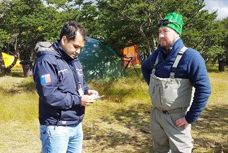 Sernapesca Magallanes intensifica fiscalización de pesca recreativa en Torres del Paine