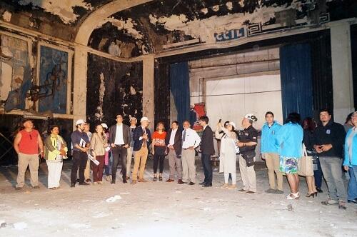 Comienzan obras de recuperación de antiguo teatro de Lota