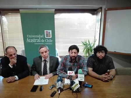 Federación de Estudiantes y rectoría de la UACh se unen para defender rol público de la casa de estudios