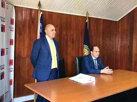 Alonso Pérez de Arce asumió como nuevo gobernador de la Provincia del Ranco