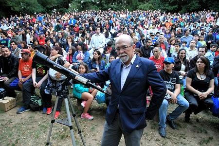 Anfiteatro sampedrino será hito nacional en Día de la Astronomía