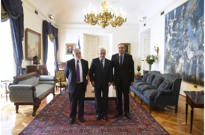 Presidente y vicepresidente del Senado sostuvieron reunión con el presidente Sebastián Piñera con el objetivo de profundizar las prioridades legislativas para el año 2018