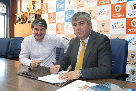 Municipalidades de Valdivia y Vicuña firmaron convenio de colaboración