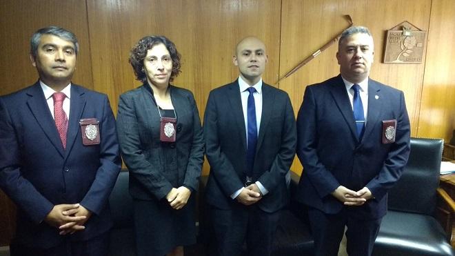 Gobernador Pérez de Arce recibió visita protocolar de jefe de la Prefectura PDI