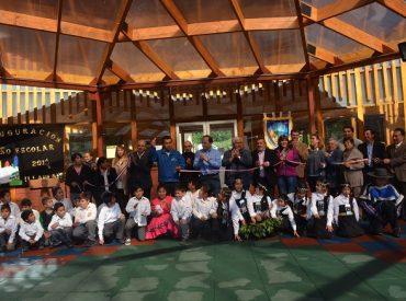 Seremi Tomás Mandiola inaugura infraestructura en inicio año escolar de Escuela Rural Illahuapi de Lago Ranco