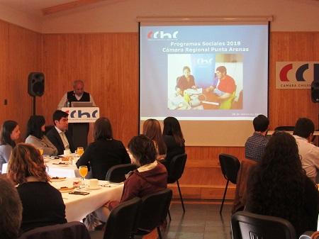 La Cámara Chilena de la Construcción de Punta Arenas beneficiará a cinco mil trabajadores de la construcción durante 2018