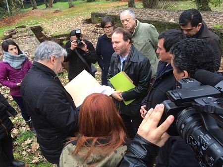 Senador De Urresti destaca convenio para restauración del MAC