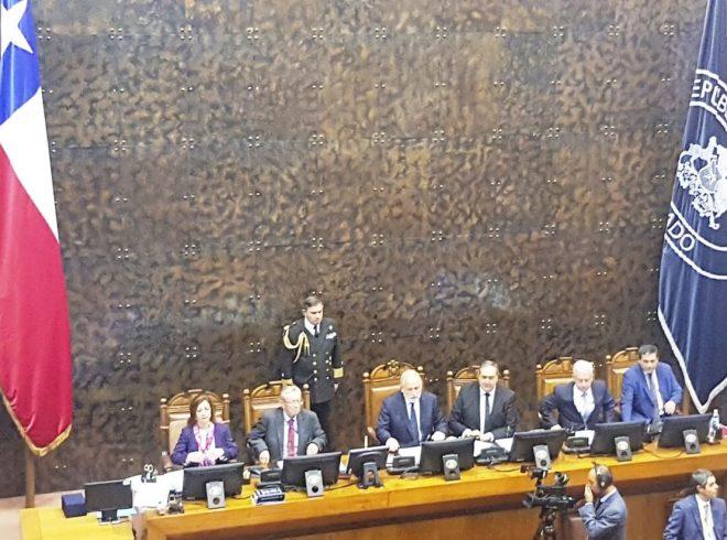 Senador Carlos Bianchi asumió Vicepresidencia del Senado para el periodo legislativo 2018 – 2019