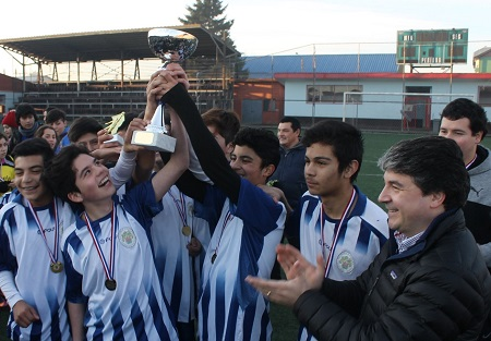 Municipio inaugura tradicional Liga Infantil de Futsal
