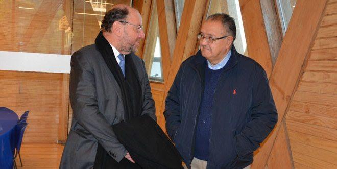 Ministro Alfredo Moreno sostuvo relevante diálogo con el senador por La Araucanía Francisco Huenchumilla