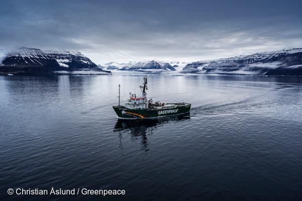 Greenpeace anuncia que rompehielos Arctic Sunrise encabezará campaña internacional de protección de los mares de la Patagonia chilena