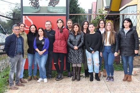 Municipalidad: mujeres de la comuna comenzaron curso de peluquería en Academia Eduardo Style