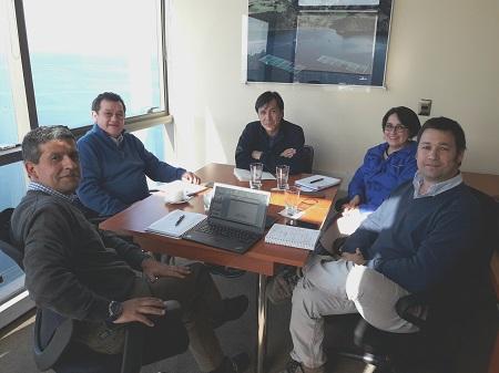 SalmonChile e Intesal se reúnen con la Universidad de Los lagos para fortalecer vinculación entre ambas entidades