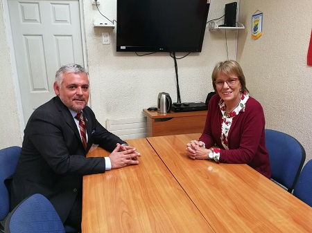 Seremi de Economía presenta a la nueva directora regional de Sercotec