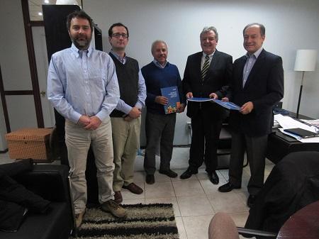 CChC Punta Arenas se reunió con nuevo seremi de Vivienda y Urbanismo