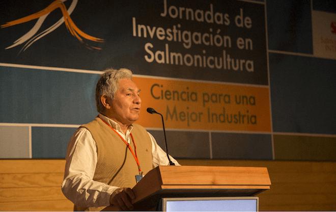 """Presidente de SalmonChile, Arturo Clément: """"El Salmón es la proteína más sustentable y eficiente"""""""
