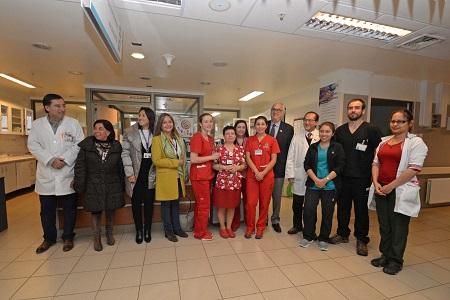 Autoridades regionales visitaron área de maternidad del Hospital de Osorno en el marco del Día del Trabajador