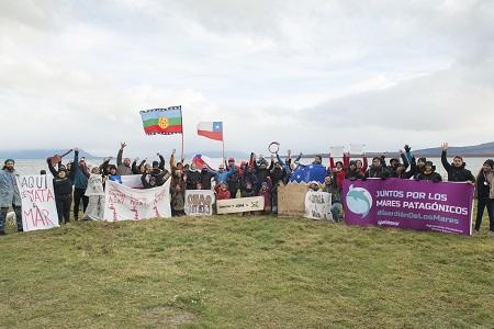 """Greenpeace advierte impacto medioambiental de la futura planta salmonera en Puerto Natales: """"Los efectos serán demoledores"""""""