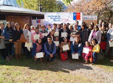 Mujeres rurales de Los Ríos participan en taller de fortalecimiento de sus derechos previsionales
