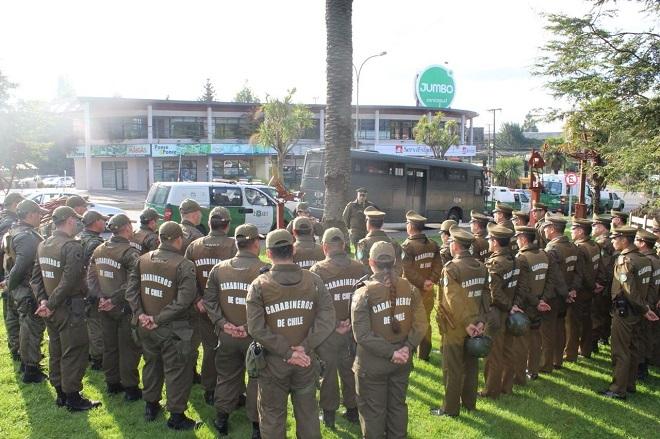 Carabineros realizará operativo focalizado en Región de Los Ríos