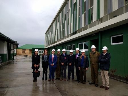 Mayor Seguridad en la Provincia del Ranco: ministro de Obras Públicas visitó nuevas dependencias de la Tercera Comisaria de Carabineros, La Unión