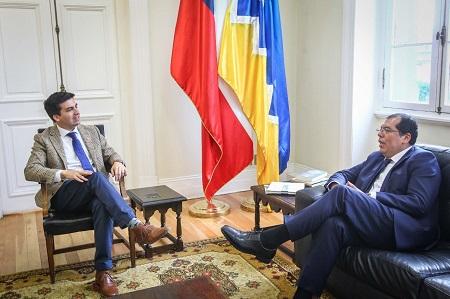 Intendente (s) Nicolás Cogler presenta a nuevo director regional de CONAF