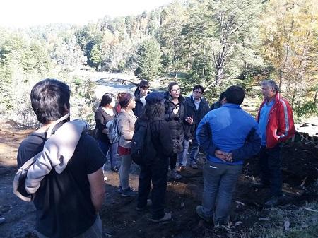 INDH concurrió a Trafún tras allanamientos a comunidades mapuche de la zona