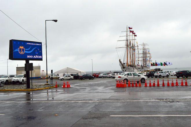 Velas Latinoamérica 2018 se despide del puerto de Talcahuano