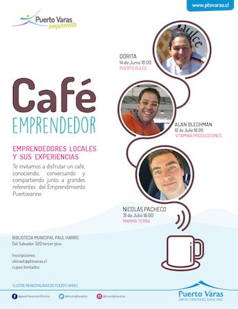 Municipalidad de Puerto Varas invita a la comunidad a un café para conocer y promover exitosas experiencias de emprendedores locales