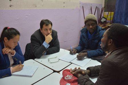 Comunidad haitiana recibe asistencia jurídica de la UST en Concepción