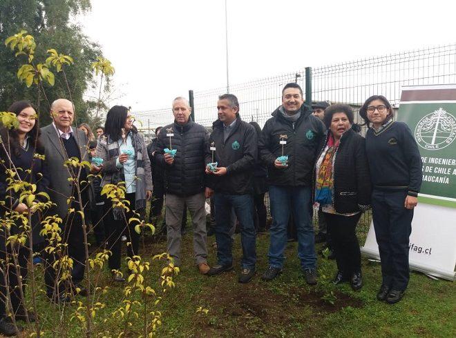 CORMA conmemoró día de las plantaciones regalando árboles nativos