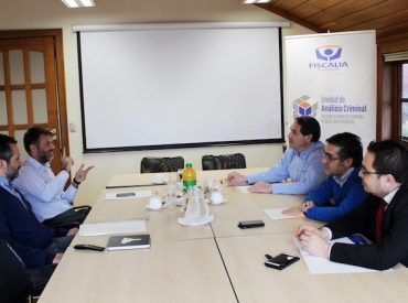 Fiscales jefes de Análisis Criminal y Focos Investigativos de tres regiones se reunieron en Valdivia