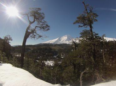 Bajas temperaturas obligan a cerrar temporalmente Reserva Nacional Mocho Choshuenco y Parque Nacional Villarrica