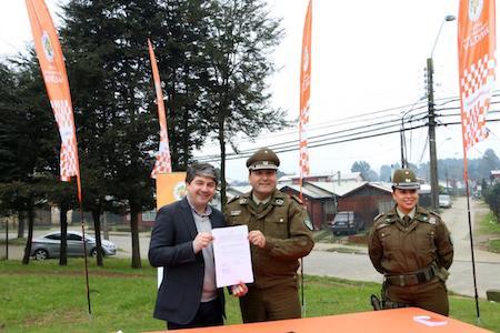 Alcalde autorizó instalación de Centro de Atención Inmediata de Carabineros en sector Guacamayo