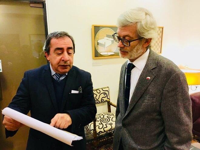 Alcalde de Mariquina se reunió con Ministro de Obras Públicas para agilizar proyectos de conectividad