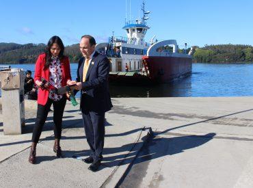 Barcaza Cullamó completó proceso de mantención y retomará sus viajes entre Niebla y Corral