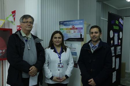 Nueva herramienta de información de calidad de aire se implementa en los CESFAM y Hospital Base de Valdivia.