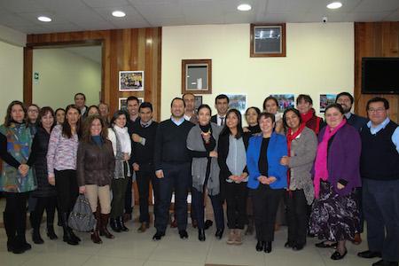 Fiscalizadores de la Superintendencia de Educación de tres regiones se capacitan en Los Ríos