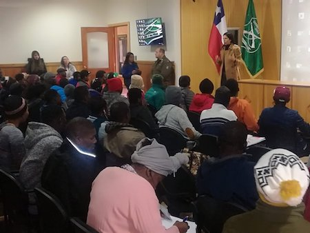 Gobernación, Seremi del Trabajo y Carabineros encabezaron jornada de capacitación a migrantes