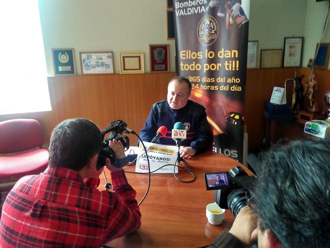 Cuerpo Bomberos Valdivia realiza declaración pública sobre proceso de investigación interna