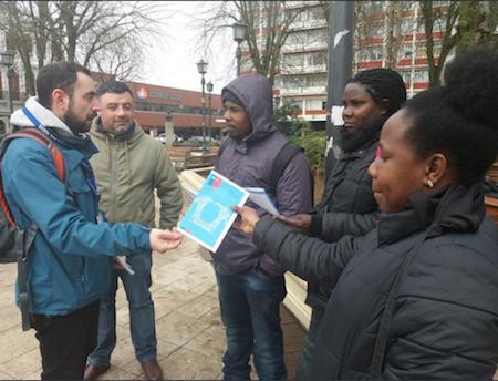 Conmemoraron día contra la Trata de Personas en Valdivia y Río Bueno